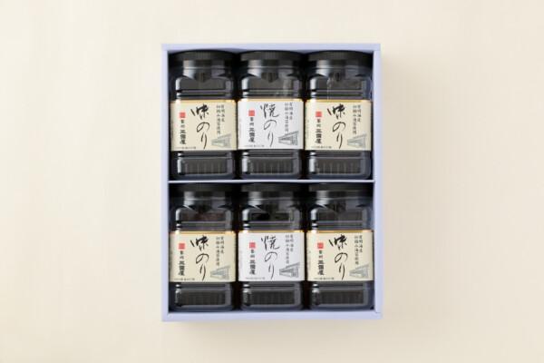 旭Y-30 味のり(4本)・焼のり(2本)
